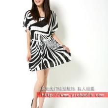 2012正品时尚精品女装OL白领夏裙气质多褶皱蕾丝边纯色雪纺连衣裙批发