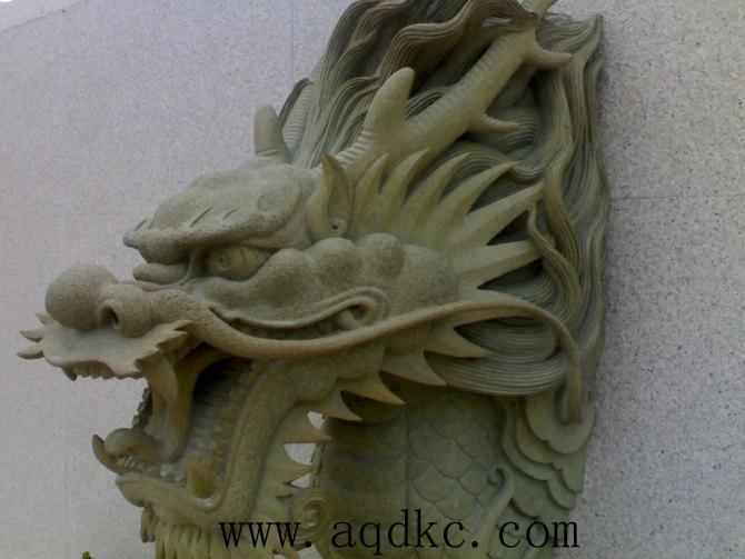 石雕景观龙头图片_曲阳县爱强工艺雕刻厂产品图