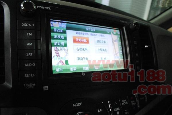 供应丰田塞纳加装导航丰田塞纳加装专用导航丰田塞纳加装高清图片