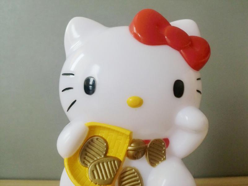 招财猫 招财猫供货商 供应塑胶玩具 电动玩具 高清图片