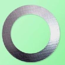 供应柔性石墨复合增强垫片高强石墨垫片图片