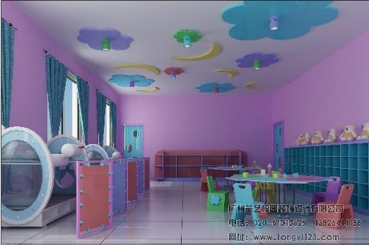 幼儿园洗手间设计; 娃娃室
