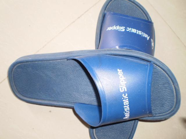 供应防静电拖鞋PVC拖鞋