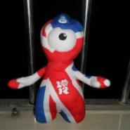 2012伦敦奥运会25CM毛绒小公仔图片
