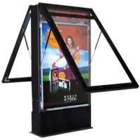 供应滚动灯箱厂家滚动灯箱价格  滚动换画灯箱