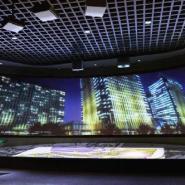 青岛全息投影沙盘系统图片