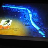投影沙盘系统图片