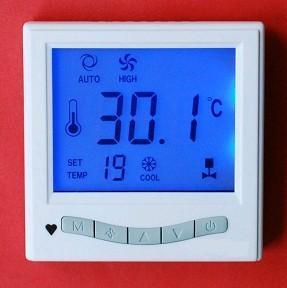 供应YK810中央空调液晶温控器、风机盘管温控器、酒店空调开关