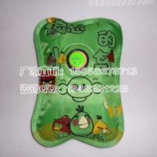 供应愤怒的小鸟韩版丝网印刷卡通暖手宝,卡通电热水袋批发批发