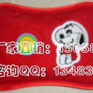 方枕形包边绒布绣花暖手宝图片