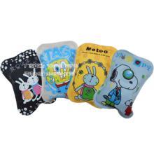 供应韩版丝网印刷卡通电热水袋批发价格,卡通兔子图案暖手宝批发批发