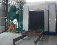 供应自动喷砂机 全自动玻璃喷砂机  环带式喷砂机高效率自动喷砂机