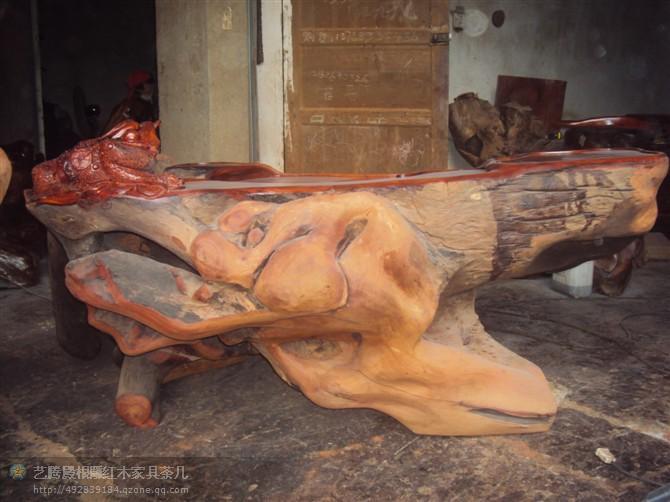 非洲红木原木