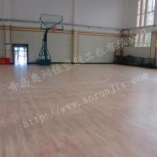 供应青岛运动场馆地板-弹性塑胶地板