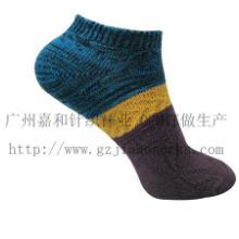 供应儿童粗线袜子毛线松口男袜图片