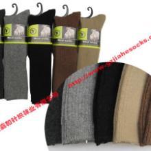 供应粗针羊毛袜子/高级混纺少女羊毛袜批发