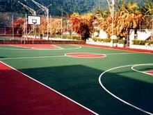 供应北京网球场建造商 网球场地面工程,篮球场地面工程 篮球场施工图片