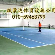 网球场地面施工 网球场建设图片