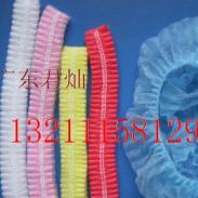 无纺布条形帽劳保用品包装材料厂图片