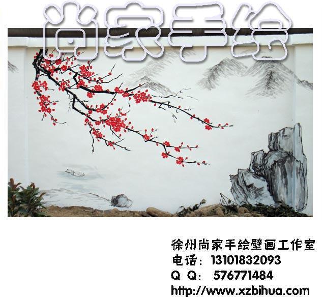 徐州手繪文化墻,學校幼兒園體育場企事業單位圍墻壁畫