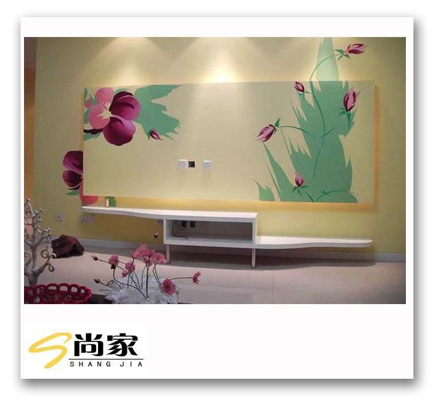 江苏徐州家庭装修工程装饰壁画图片