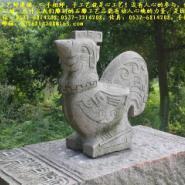 城市雕塑属相石雕12生肖柱图片