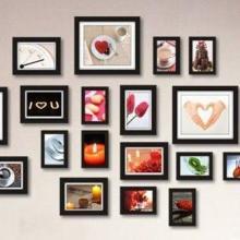供应厂家直销23框实木相框组合照片墙装饰温馨家居批发