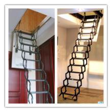 阁楼伸缩楼梯,伸缩式阁楼楼梯,隐形阁楼楼梯鹏博阁楼伸缩楼梯