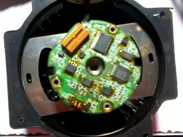 编码器图片 编码器样板图 安川二代增量值编码器UTSIH B17...