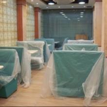 供应餐厅家具茶餐厅卡座沙发人造石餐桌茶餐厅家具东莞茶餐厅桌椅