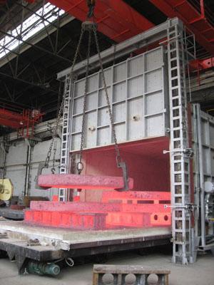 0511-86555917 浙江台车回火炉价格产品描述:   设备组成:大型台车式