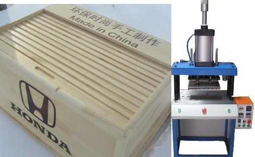 供应木箱绒布皮包木制品烙印机