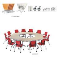 天津哪里有卖折叠会议桌架图片
