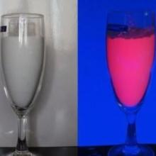 紫外光變熒光粉,容器著色專用熒光粉,隱形熒光粉色粉圖片