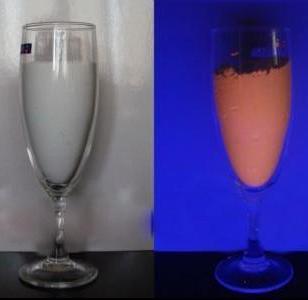 耐溶剂性发光荧光粉图片