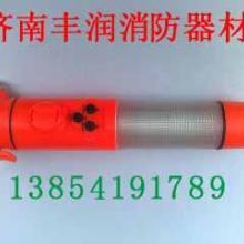 济南五合一手电筒 玻璃锤强光声光报警割绳器磁铁底座消防多功能手电批发