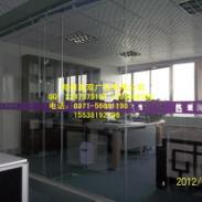 郑州玻璃防撞条磨砂腰线图片
