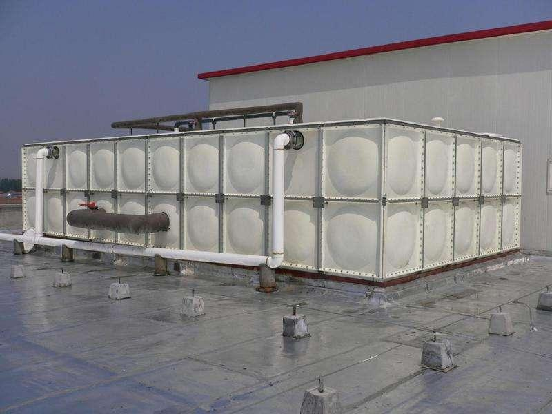 供应太原水箱山西水箱食品级水箱  玻璃钢消防水箱 玻璃钢保温水箱