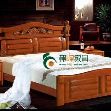 供应1.8米实木床双人床单人床东莞塘厦18米实木床双人床单人床东批发