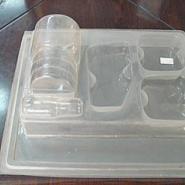 双卡泡壳糕点盒防静电托盘御兴包装图片