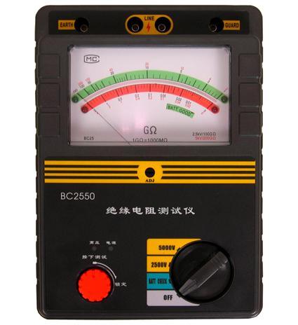 供应ND2502绝缘电阻测试仪
