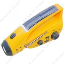 供应常州太阳能手摇电筒定制