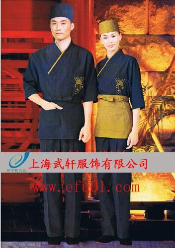 日式服务员服装图片_