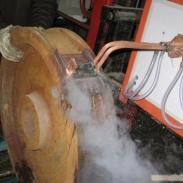 百度推广行车轮T型槽表面淬火设备图片