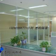 K昆明成品玻璃隔断图片