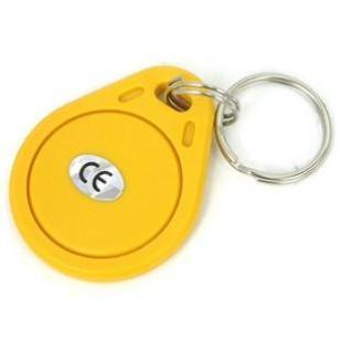 喷码ID钥匙扣卡防水防震ID卡图片