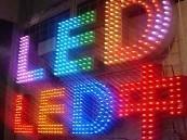 供应河南LED冲孔点阵发光字
