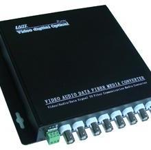 供应8路16路音视频数字光端机光收发器