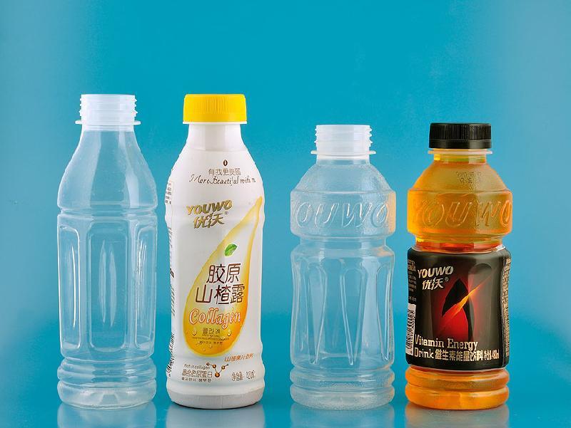 供应乳饮料瓶(透明塑料瓶)-耐高温瓶