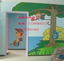 供应成都手绘墙艺电视沙发卧室背景墙画、幼儿园墙体彩绘